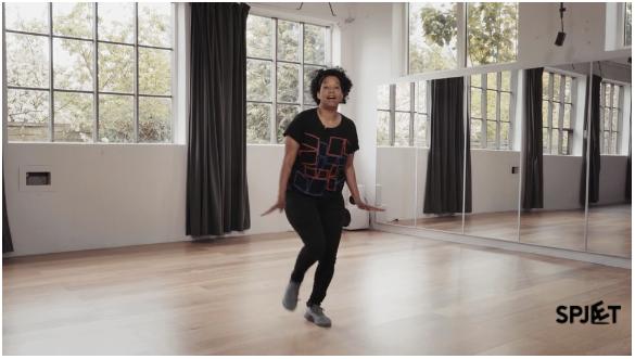Spjæt - danselektion #1 foto