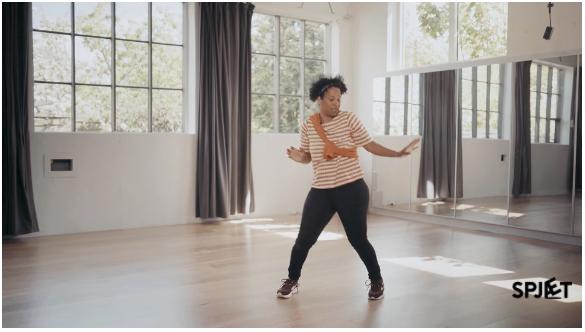 Spjæt Op - Danselektion #2 post foto
